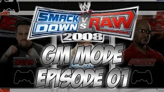 SmackDown vs Raw 2008 GM Mode - Episode 1: Draft Time
