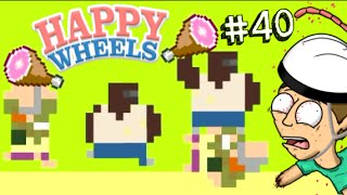 HAPPY WHEELS FATTO A PIXEL!! - Happy Wheels [Ep.40]