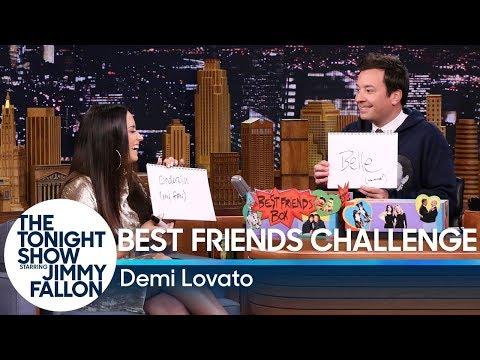 Best Friends Challenge with Demi Lovato