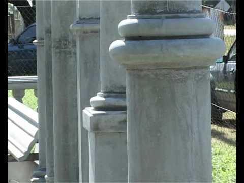 Columnas premoldeadas Miguel Angel Silvina Daz En Obras