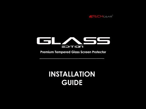 TECHGEAR Tempered Glass Video Installation Guide For Samsung Galaxy S5