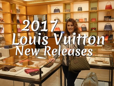 Louis Vuitton 2017 New Releases | Close ups | MOD Shots | Measurements
