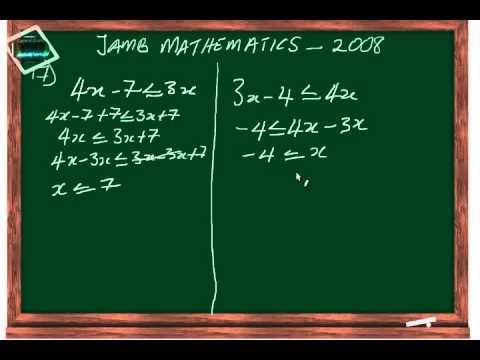 (www.jamb.org.ng) Jamb Maths Past Question And Answer 2008 Qn17