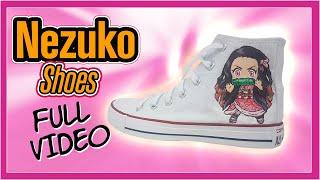 Nezuko on Converse Shoes Part …
