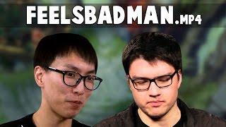 feelsbadman.mp4 | Funny LoL Series #45 (ft.Doublelift, Dyrus, Krepo, Imaqtpie, Nightblue3..)