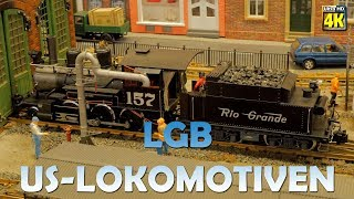 MEF e.V. 22-ter. Internationale Gangelter Modellbautage | 🚂 US Lokomotiven in Spur LGB