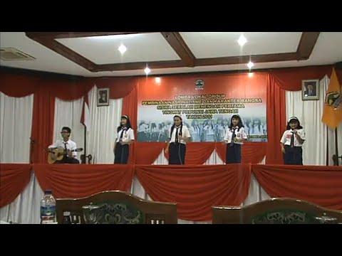 SMPN 2 Klaten Lomba Vocal Group tingkat Provinsi Jawa Tengah