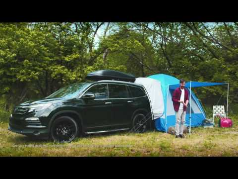 Camping with Honda Accessories