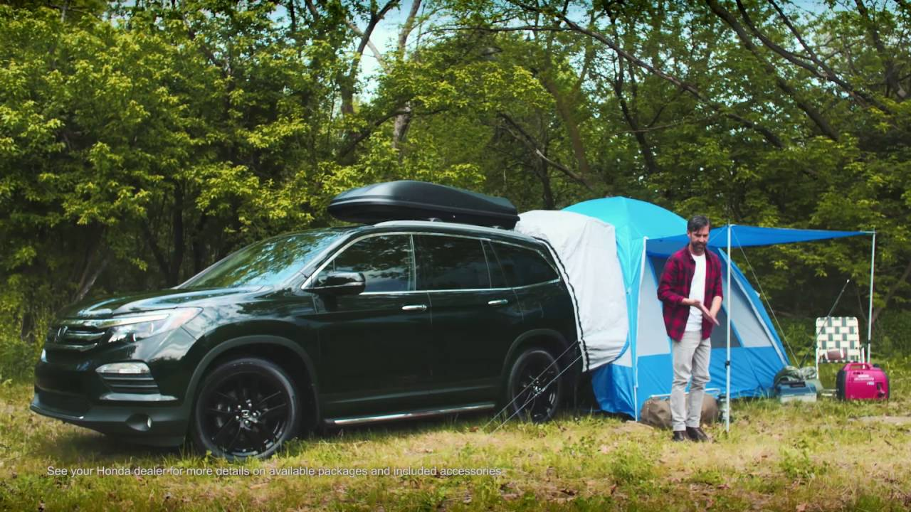 Camping With Honda Accessories Youtube
