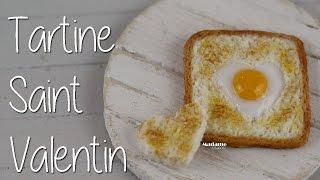 [Saint Valentin] Tartine coeur d