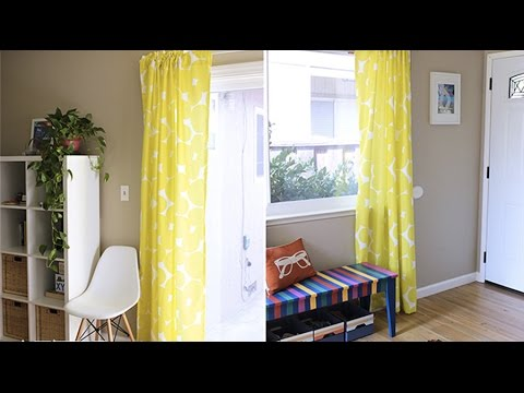 Easy DIY: How to Make your Own Curtains + Giveaway | Digital Fabrics TAG | Live Colorful