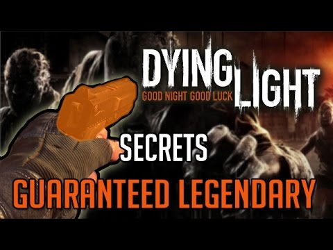 Dying Light Secrets   High Chance Legendary Weapon Chest Location Tutorial
