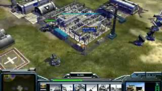 Command & Conquer Generals Gameplay