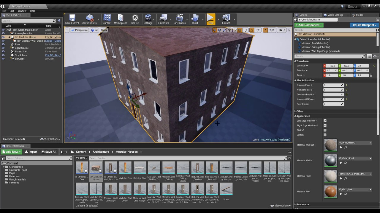 how to make your own static mesh unreal engine 4