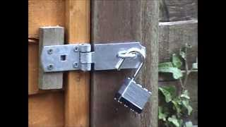 How To Turn A Fence Panel Into A Gate