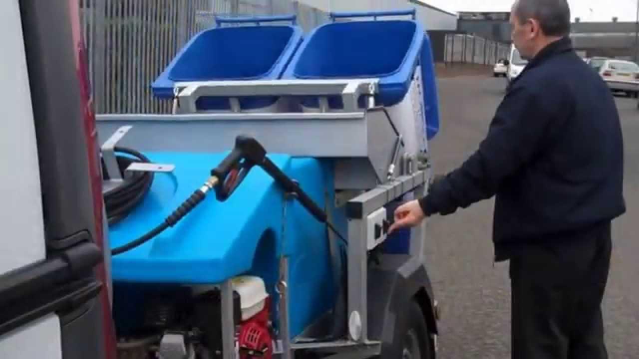 bin for machine