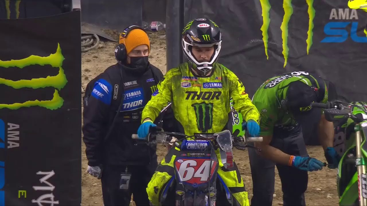 Supercross Round #4 250SX Highlights from Indianapolis