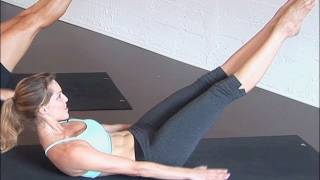 Pilates For Beginners: 100s Ab Exercise