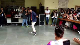 Lovely Dance Performance @ IEC INNOVISION 2K18 (SOLO DANCE- Mr. Arpit). || #echosmart