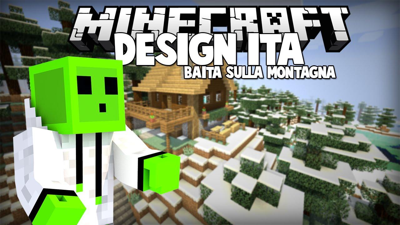 Case Di Montagna Minecraft : Baita sulla montagna minecraft design ita youtube