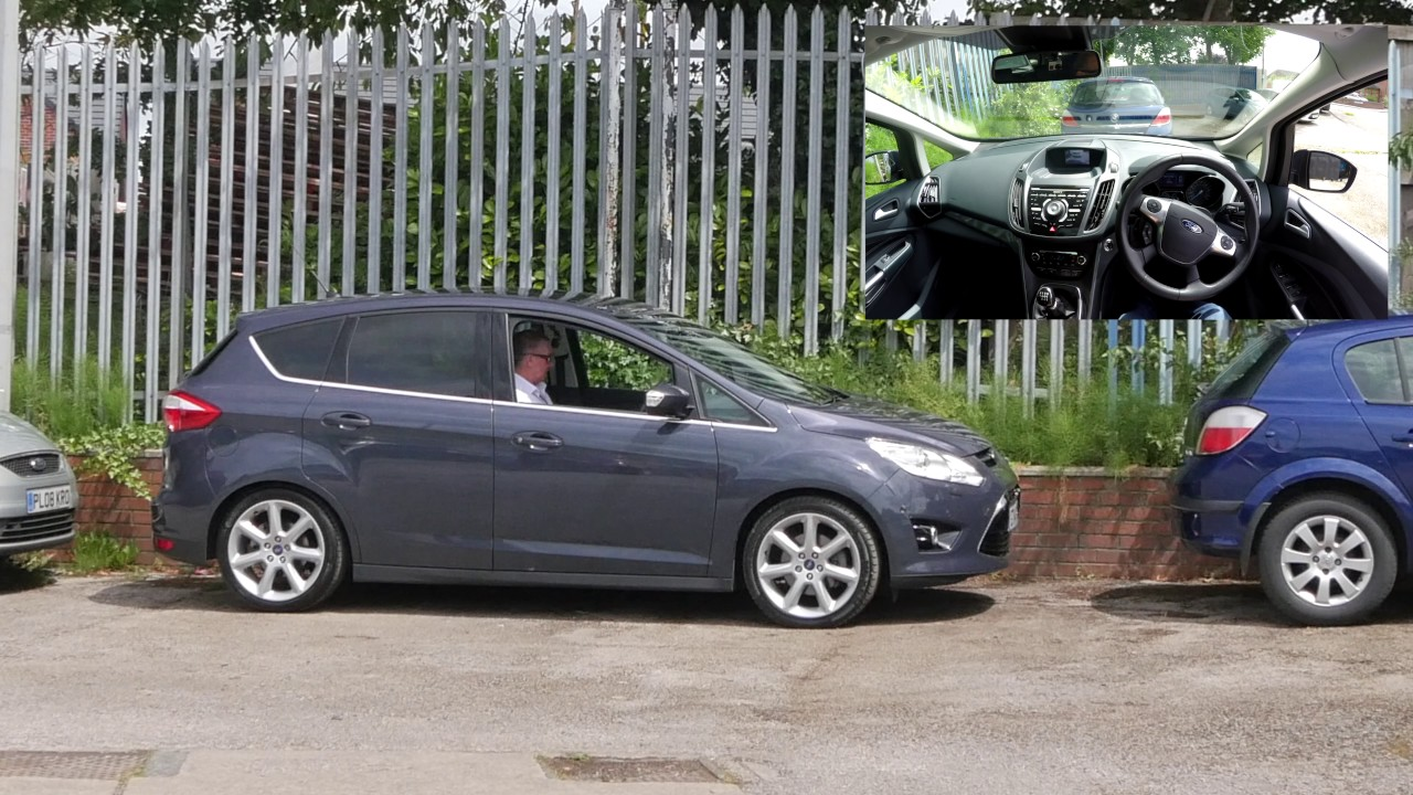active park assist demonstration in our ford c max 2 0 tdci