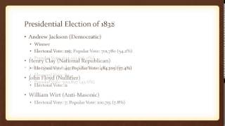 United States Presidential Elections, 1800-1849