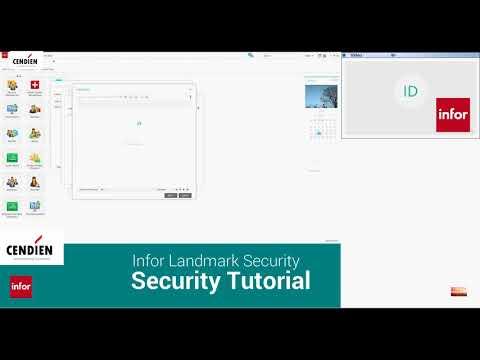 Cendien Infor Landmark Security Quick Tips