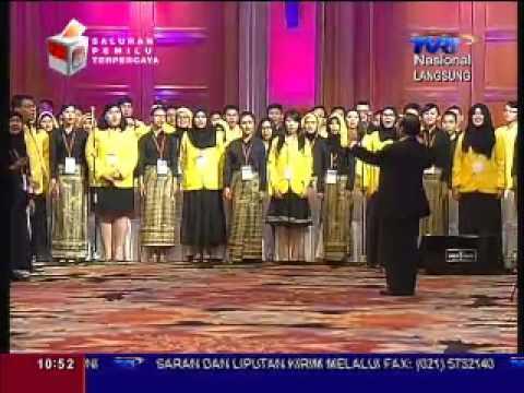 TVRI live streaming acara silaturahmi mahasiswa Bidik Misi nasional 2014 se Indonesia ...