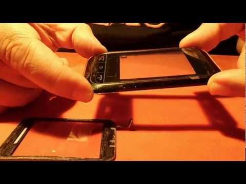 como cambiar el Touch de un Samsung C3300