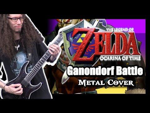 GANONDORF BATTLE - Metal Cover By ToxicxEternity (The Legend Of Zelda: Ocarina Of Time)