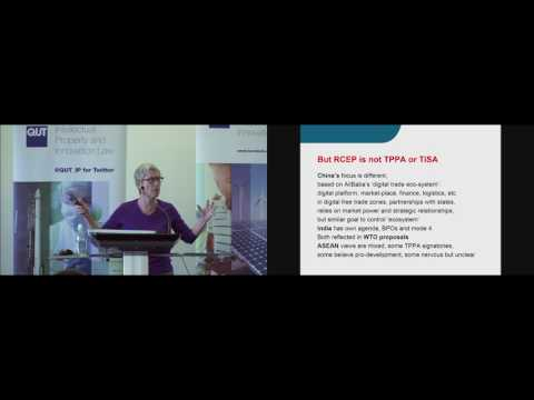 The Trojan Horse of e-Commerce - Professor Jane Kelsey (University of Auckland)