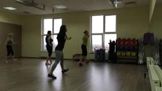 """Танец из клипа на песню """"Hideaway"""" разучивают наши девушки!"""
