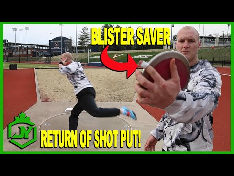 Taping Your Discus Finger - Return Of Shot Put - JY THROWS S3E13