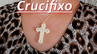 NM Bijoux – Crucifixo com as pontas arredondadas