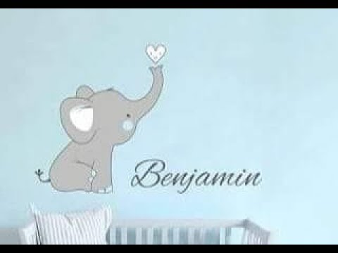 Convite Chá De Bebe Elefante Benjamin Youtube