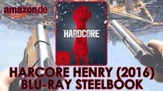 Hardcore Henry (2016) Blu-ray Steelbok   Хардкор   Amazon.de   Ilya Naishuller   Unboxing   a.k.a. CRUSH