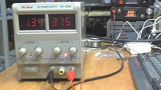 РЕМОНТ ЛБП Ya Xun PS-305D. Завышенные показания индикатора тока и напряжения