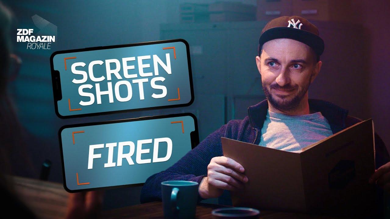 Screenshots Fired – das lustige Ratespiel für alle, die Screenshots machen | ZDF Magazin Royale