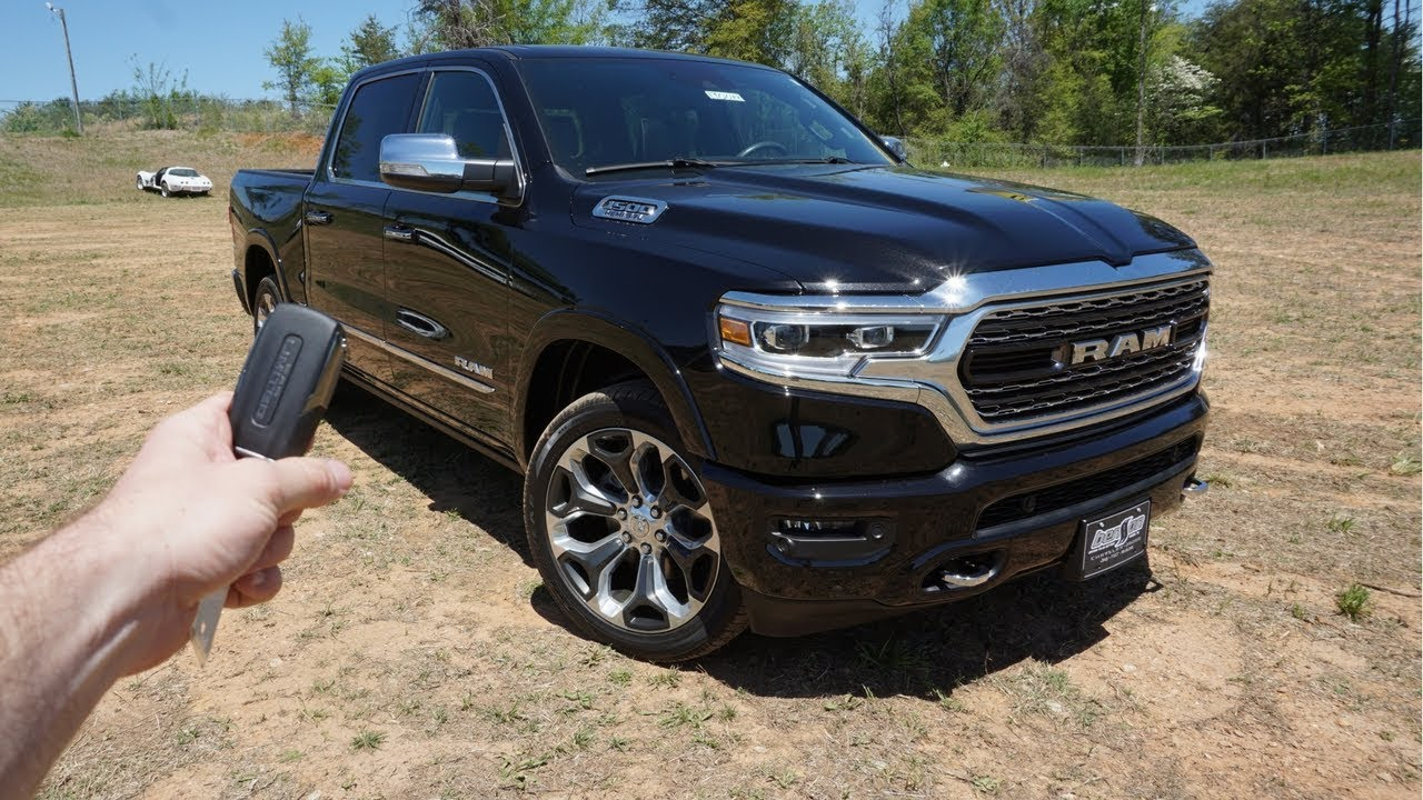 2019 ram 1500 limited start up walkaround test drive and review youtube. Black Bedroom Furniture Sets. Home Design Ideas