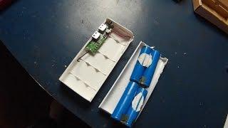 Aibocn 10,000mAh Portable Power Bank(a look inside}part1
