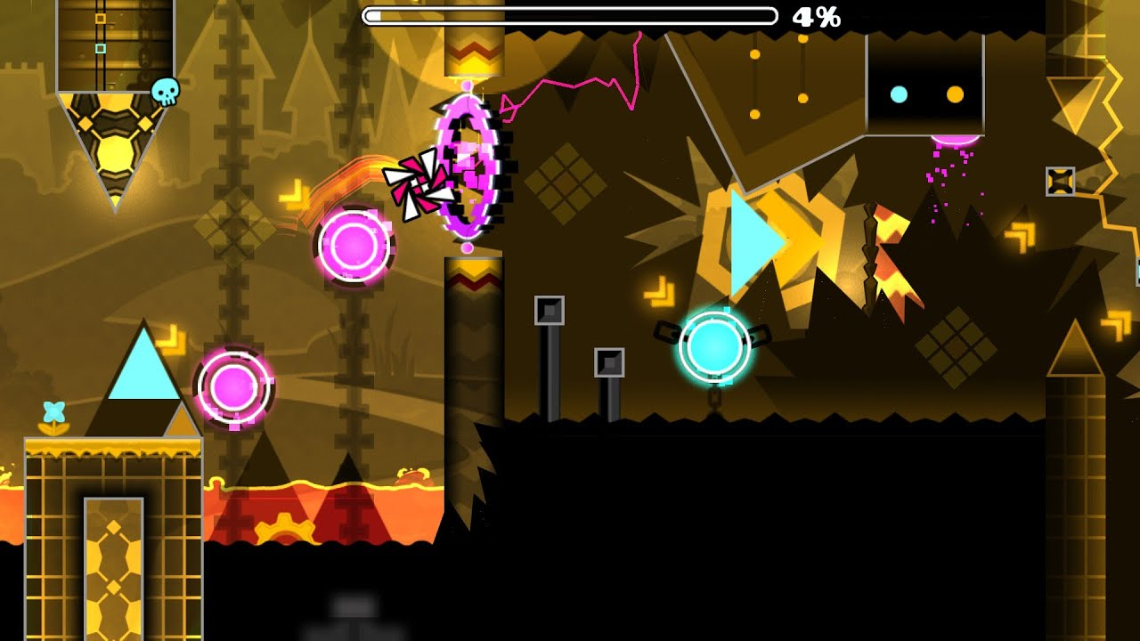 Magma Force (Easy Demon) Preview Geometry Dash