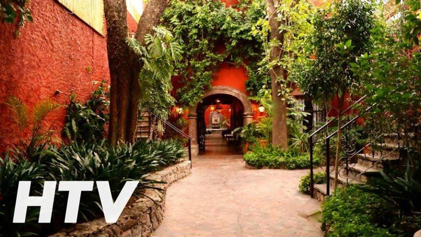 Casa Luna Hotel Boutique en San Miguel de Allende  YouTube