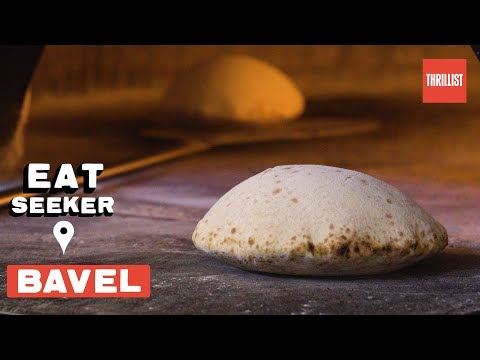 Life-Changing Pitas At LA's New Middle Eastern Spot || Eat Seeker: Bavel