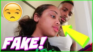 FUNNYMIKE AND JALIYAH F@K3 BR3AK UP FOR VIEWS AND SPEAK ON WHAT WENT WRONG IN THEIR RELATIONSHIP