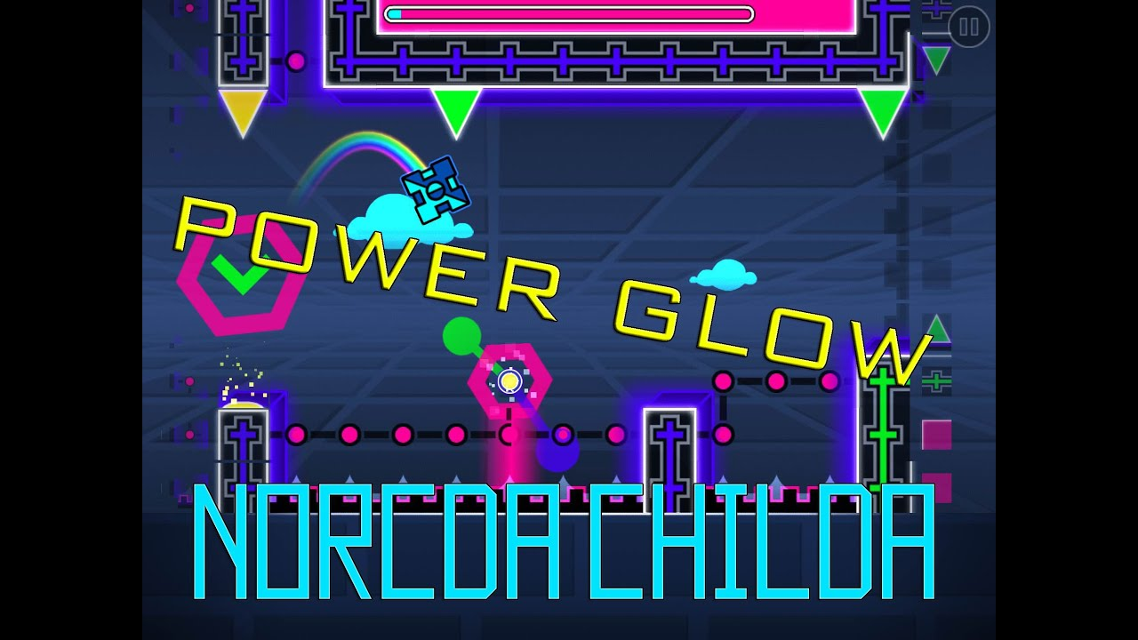 how to make a glow background in geometry dash