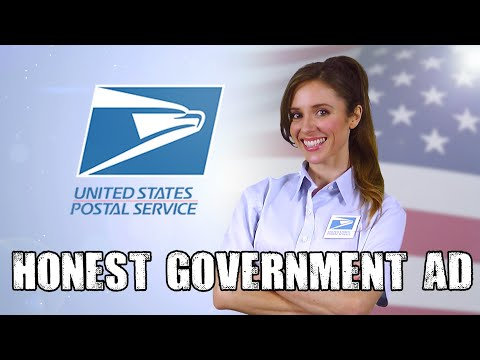 Honest USPS Ad | Mail-in voting