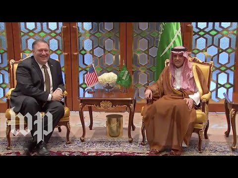 Pompeo arrives in Saudi Arabia