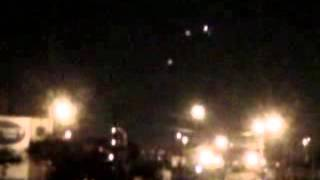 Masses Of Ufos Caught In Chicago Night Sky