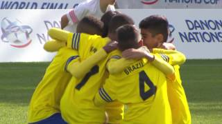 Poland vs Brazil - 1/4 Final - Highlight - Danone Nations Cup 2016