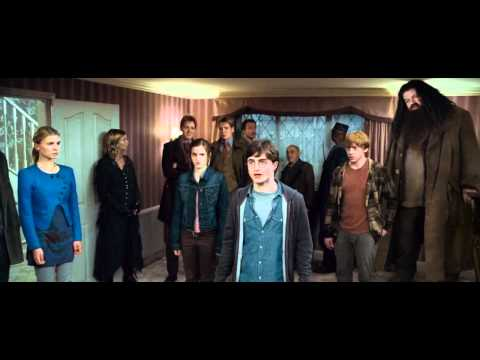 seven potters scene harry potter and the deathly hallows
